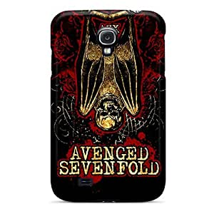 Shockproof Hard Cell-phone Cases For Samsung Galaxy S4 (gYU10263sMad) Support Personal Customs Colorful Avenged Sevenfold Pattern