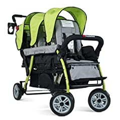 Foundations NEW Sport stroller collection redefines everything you thought you knew about multi-child strollers. Striking the perfect balance of strength and mobility, the Sport strollers are constructed of durable tubing that is lightweight ...