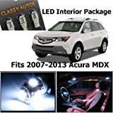 Acura MDX White Interior LED Package (13 Pieces)