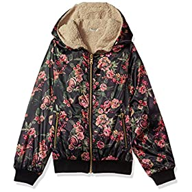 Jessica Simpson girls Midweight Cozy Bomber Jacket