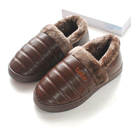 43 Pantofole Cotone Indossare 45 Laxba 44 Maglia Antiscivolo Consigliato Codice Brown44 Ladies Di Cashmere AwTgqPI