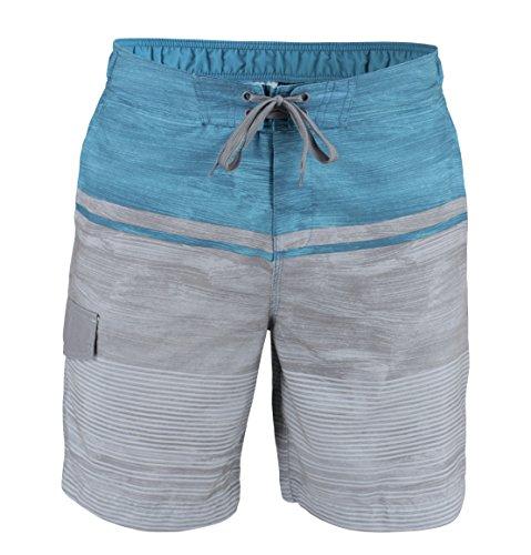 Matereek Men's Shorts Grey Heaven Sweamwear Swim Trunks Green Grey - Suit Man Swim
