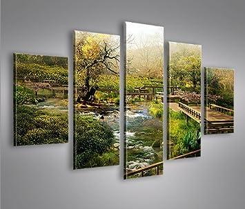 Bild Bilder Auf Leinwand China Landschaft MF XXL Poster Leinwandbild Wandbild Dekoartikel Wohnzimmer Marke Islandburner