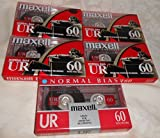 Maxell UR 60 Position IEC Type I Normal Audio