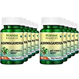 Morpheme Ashwagandha (Withania somnifera) 500mg Extract 60 Veg Caps (Pack of 10) For Sale