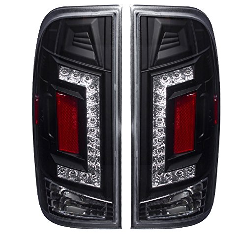2000 Ford F150 Heritage - AJP Distributors 2nd Generation LED Tail Lights For Ford F150 (Black)