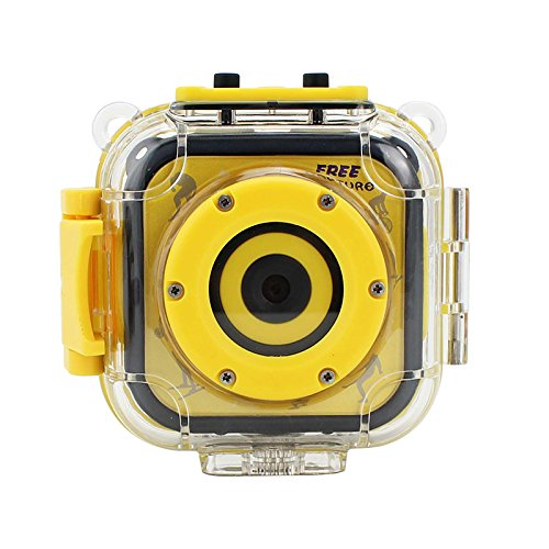 TOOGOO I bambini impermeabili Digital Video HD Action Camera 720P Sport 1.77inch LCD Screen Camera Camcorder DV per le ragazze dei ragazzi Regalo di compleanno Imparare Camera giocattolo SODIAL 148526