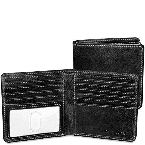 Jack Georges Mens Voyager Hipster Wallet in ()