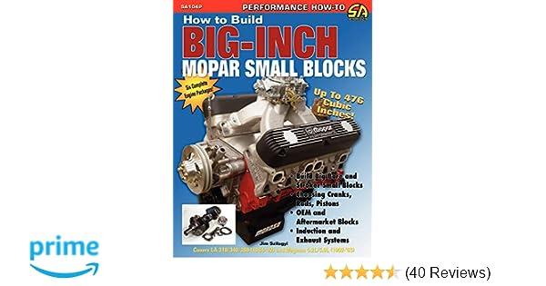 How to Build Big-Inch Mopar Small Blocks: Jim Szilagyi