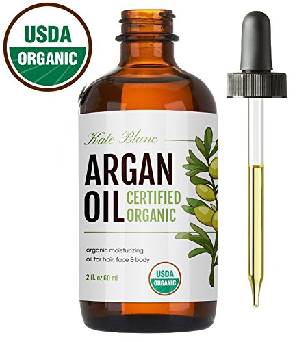 Moroccan-Argan-Oil-USDA-Certified-Organic-Virgin-100-Pure-Cold-Pressed-by-Kate-Blanc-Stimulate-Growth-for-Dry-and-Damaged-Hair-Skin-Moisturizer-Nails-Protector-1-Year-Guarantee