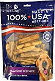 Pet Factory 78142 Beefhide | Dog Chews, 99% Digestive, Rawhides To Keep Dogs Busy While Enjoying, 100% Natural, Chicken Flavored Mini Rolls, Pack Of 35 In 3-3.5'' Size, Made In USA