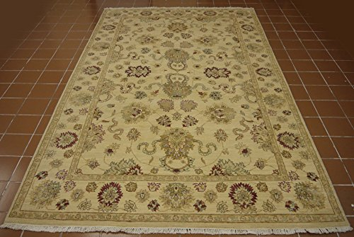 Babak's Oriental Carpets Chobi Ziegler Handmade Afghan Rug 9'6