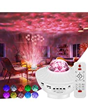Fimilo Star Projector Galaxy Projector Galaxy 360 Pro Projector with Bluetooth Speaker Ocean Wave Projector with Remote Control for Kids Bedroom Celling for Relaxing