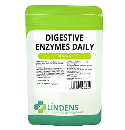 Las enzimas digestivas Diario 3-PACQUETE 270 Tabletas w / betaína ...
