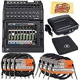Mackie DL1608 16-Channel Digital Mixer Bundle