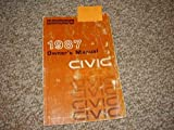1987 Honda Civic Wagon Owner's Manual