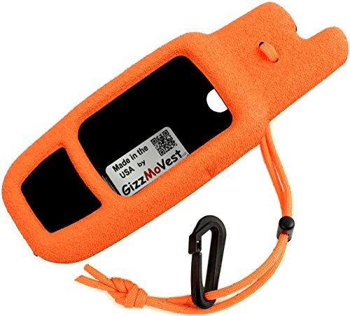 Garmin Rino 650 655t CASE made by GizzMoVest LLC in 'Hunter Orange' MADE IN THE USA primary