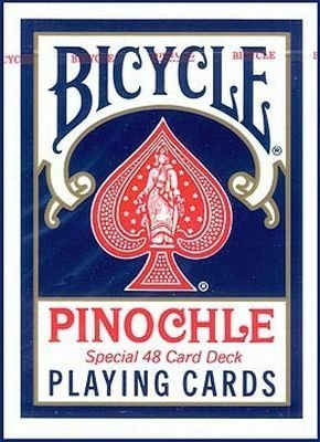 Play Cards Bicycle Pinochle (6-Pack)