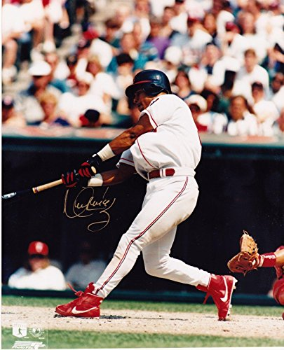 Manny Ramirez Signed Picture - 8x10 - Autographed MLB Photos