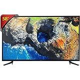 Smart TV LED UHD 4K 58, Samsung, UN58MU6120GXZD