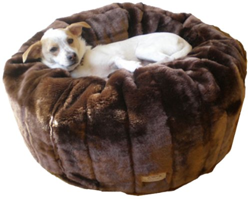 Favorite Pet Products Tiger Dreamz Beddy-Ball Bed, Caramel Cocoa, My Pet Supplies