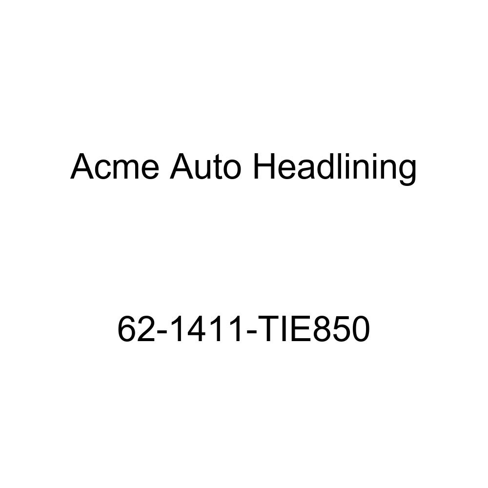 Chevrolet Impala 2 Door Hardtop 6 Bow Acme Auto Headlining 62-1411-TIE850 Dark Red Replacement Headliner