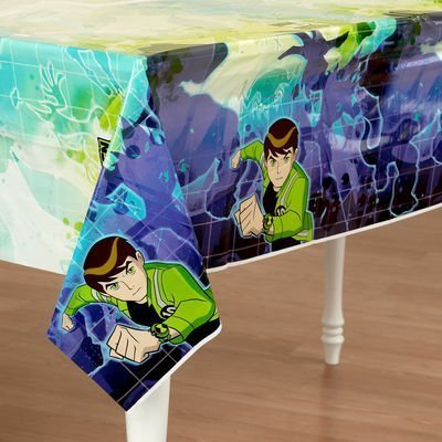Ben 10: Alien Force 102 Inch X 54 Inch Tablecover - Each by HALLMARK [Toys & Games] (Ben 10 Table Cover)