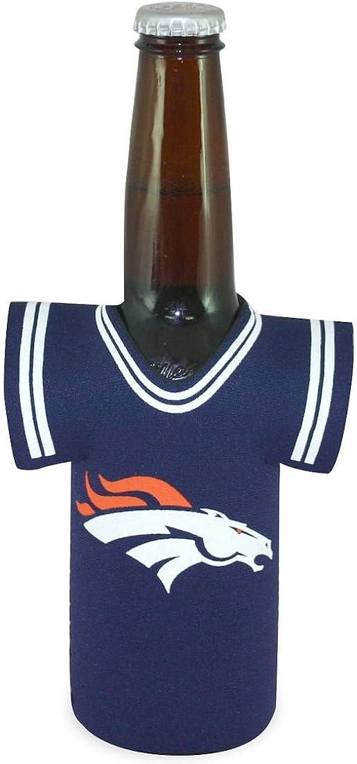 NFL Denver Broncos Orange Sports Fan Cold Beverage Koozies, Team Color, One Size