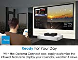 Optoma CinemaX P1 4K UHD Laser TV Home Theater
