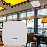 Best Wireless Access Point Poes - KuWFi Ceiling Mount Wireless Access Point, Dual B Review