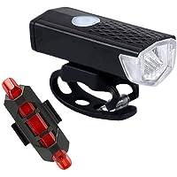TYESHA Luz para bicicleta com carga USB luz super brilhante luz de ciclismo luz dianteira de bicicleta à prova d'água…