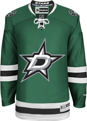 NHL Dallas Stars Men's Center Ice Team Color Premier Jersey, Green, XX-Large
