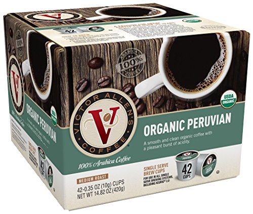 Winner Allen Coffee, Organic Peruvian, 42 Count