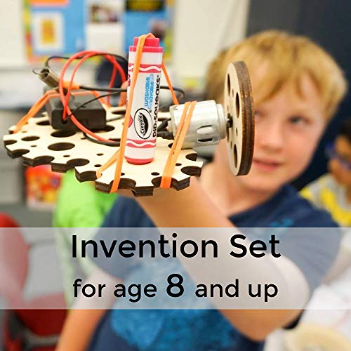 Tinkering Labs Electric Motors Catalyst, Robotics Stem Kit for Kids Age 8-12 by Tinkering Labs (Image #1)