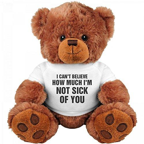 Funny Valentines For Her Gift: Medium Teddy Bear Stuffed Animal