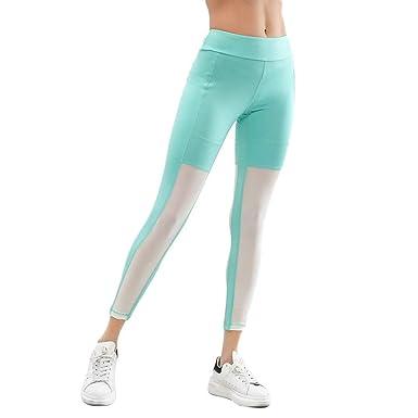 BoBoLily Pantalones De Yoga para Mujer Alta Especial Estilo ...