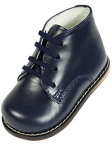 JOSMO Infant Oxfords Shoes - 8190, Navy, 4 W US Toddler