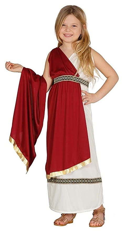 Fiestas Guirca Costume da matrona Romana Bambina