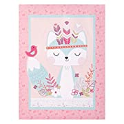Trend Lab Wild Forever Canvas Wall Art, Blue/Tan/Pink/White