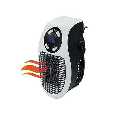 Z@SS 500W Mini Calentador, Portátil Escritorio Calentador con Temperatura Ajustable Y La Función
