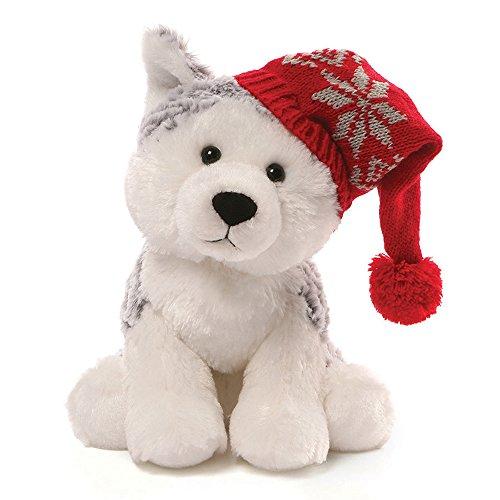 GUND Christmas Flurry Husky Plush, 8