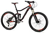 Mongoose Teocali Expert 27.5″ Wheel, Black, 18″/Medium