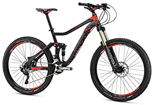 "Mongoose Teocali Expert 27.5"" Wheel, Black, 16.5""/Small"
