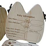 SunFuture Baby Teeth Keepsake Box,Wooden Tooth Fairy Box,Teeth Storage Organizer for Boys and Girls,Baby Teeth Save Boxes,Cute Children Tooth Container with Tweezers To Keep The Childwood Memory