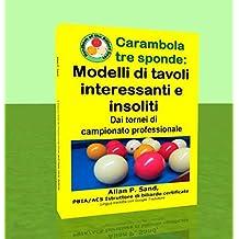 Carambola tre sponde - Modelli di tavoli interessanti e insoliti: Dai tornei di campionato professionale (Italian Edition)