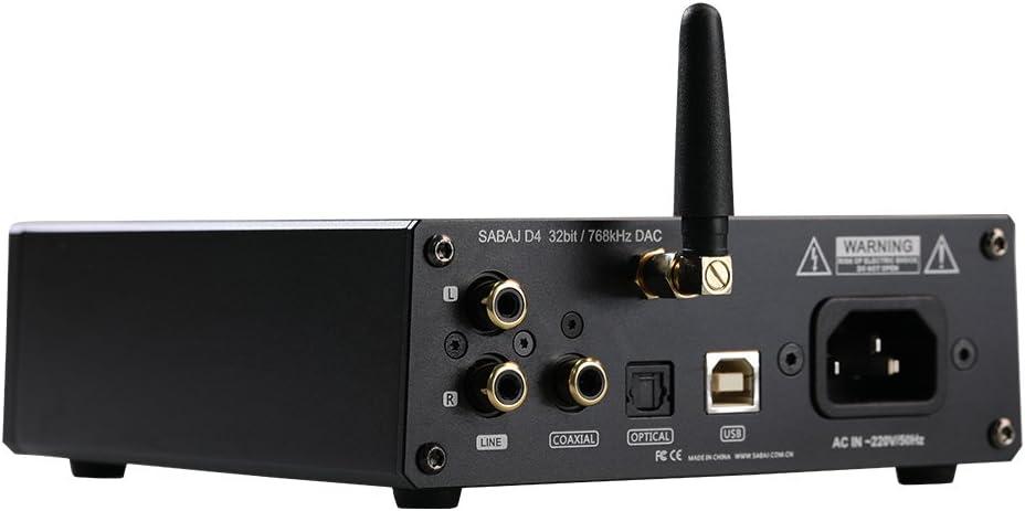Sabaj D4/Portable DAC et amplificateur de Casque