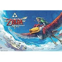 Zelda Skyward Sword Flying Poster - 18x12