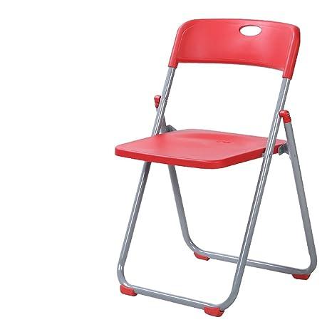 Sedie In Plastica Pieghevoli.Jhzy Sedie Pieghevoli Home Poltrone Di Plastica Sedie Moderne Di