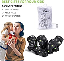Amazon.com: Rodilleras para niños rodilleras y coderas con ...