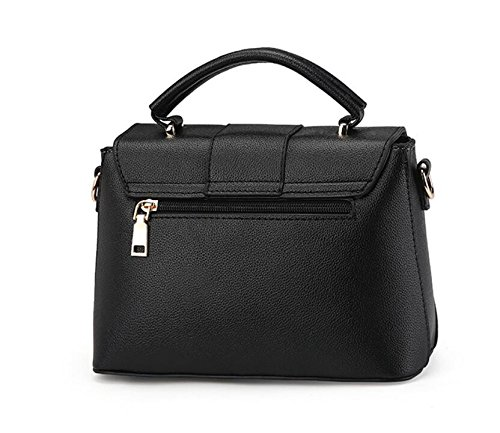 À Meaeo New Flip Messenger Bandoulière Sac Black Simple Women'S Bag Gris qqnrf50x